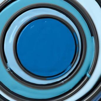 Benjamin Moore Blue Lids