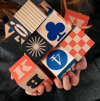 Uncle Goose wooden block set