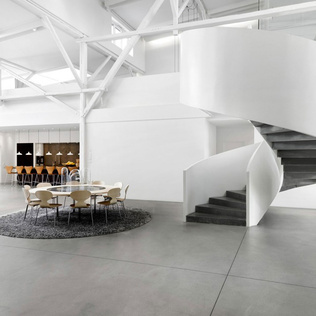 space copenhagen design studio fritz hansen showroom