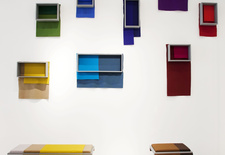 Kvadrat Hallingdal 65 at the Jil Sander Showroom, NYC during ICFF 2012.  Photographed by Melissa Stewart