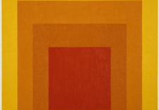 """""""Homage to the Square: Glow,"""" 1966."""