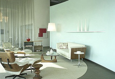 Authentic furniture pieces by Herman Miller