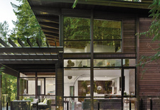 Gambier Island House in Canada designed by Turkel Design