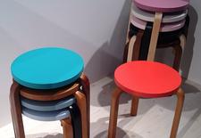 dwell instagram artek spring stools icff 2014