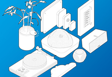 living room products illustration