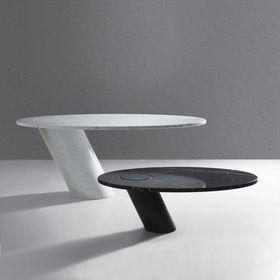 Eccentrico Angelo Mangiarotti Agape Casa table