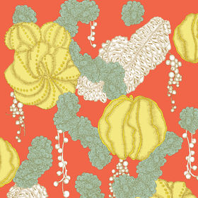 Succulent wallpaper by Mary Kysar for make like