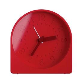 bell alarm clock red