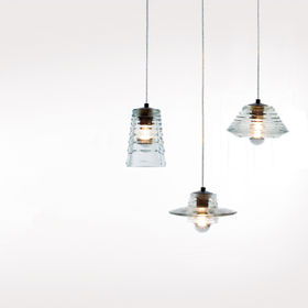 dixon tom pressed glass pendants
