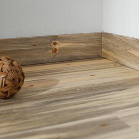Bluestain Flooring by Greeno made in Montana.