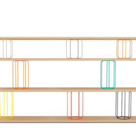 Circus, 3 Shelves by Stephen Burks for Mattermade made in Brooklyn, New York