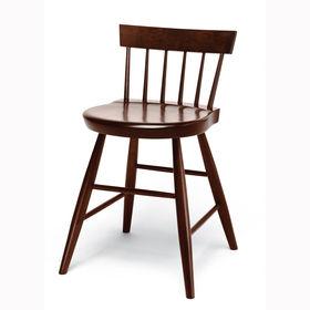 Enfield Shaker Dining Chair by Shaker Workshops in Gardner, Massachusetts.