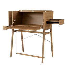 modern wood secretary desk by Ligne Roset