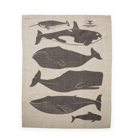 holiday t guide heath tea towel