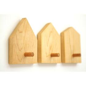 modern wood coat hook