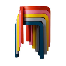 colorful, lightweight stackable stools