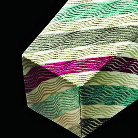 Furrow stripe fabric by Jane Churchill