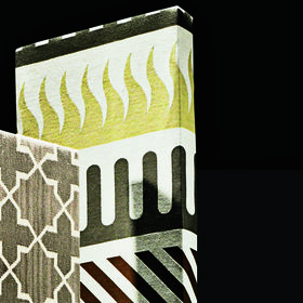 Palio textile by Alexander Girard, 1964 by Maharam