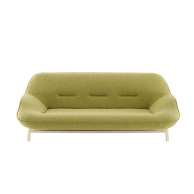 Peach and Green furniture and products including the Cosse sofa from Ligne Roset made of beech