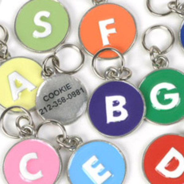 Personalized Alphabet Tags