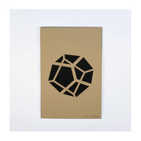 Molly M Designs Pentahedron print