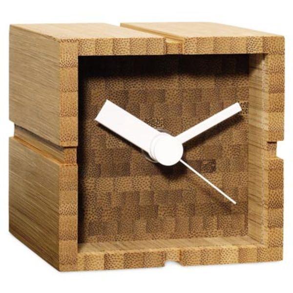 POD Bamboo Desk Clock Yusuke Tsujita