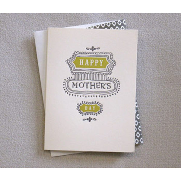 POD Egg Press Mother s Day Card