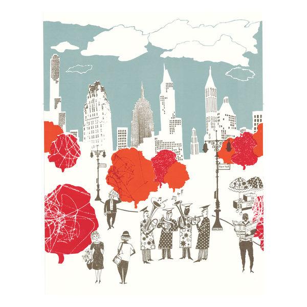 POD Lizzie Allen Jazz in Central Park wallpaper