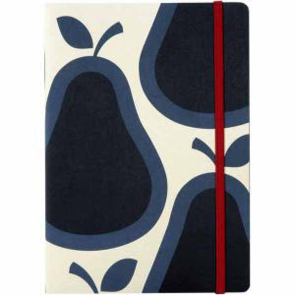 Pear Print A5 Bound NoteBook Orla Kiely