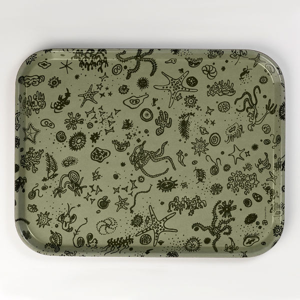 Sea Things by Charles and Ray Eames Serving Tray