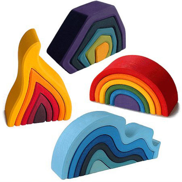 Spiel Holz stacking wood toys