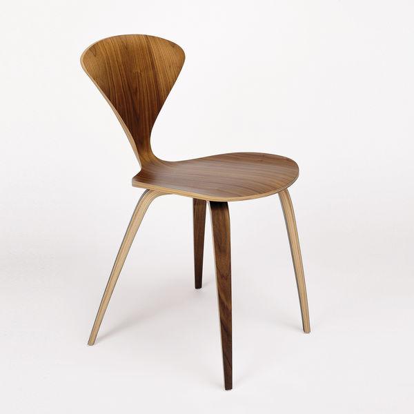 cherner chair side shair walnut