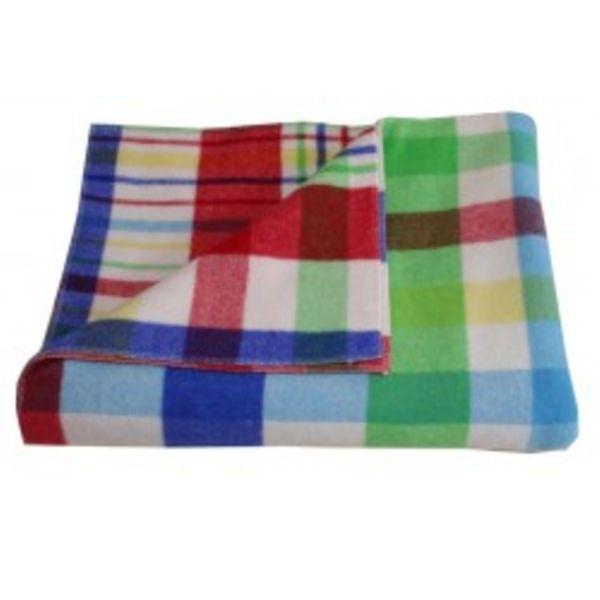 designers eye multi plaid blanket