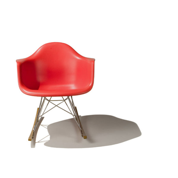 eames rocker red front zwello
