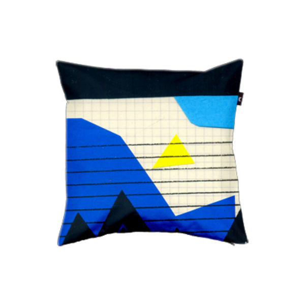 envelop lepetitoiseau pillow cover blue mountain