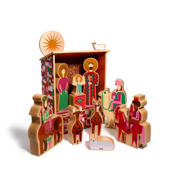 girard nativity set house industries