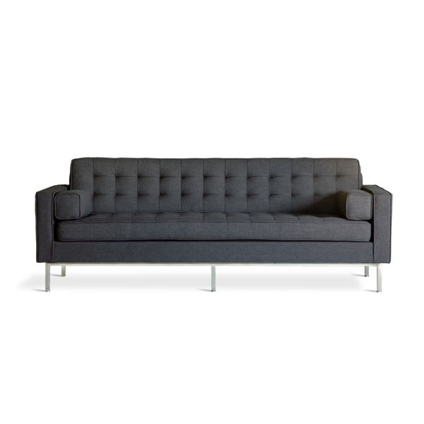 gus design spencer sofa dark gray