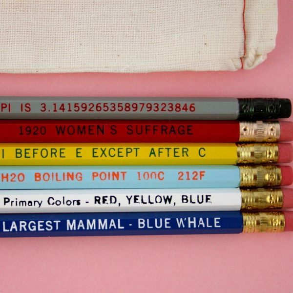 know it all pencil set paper pastries 2