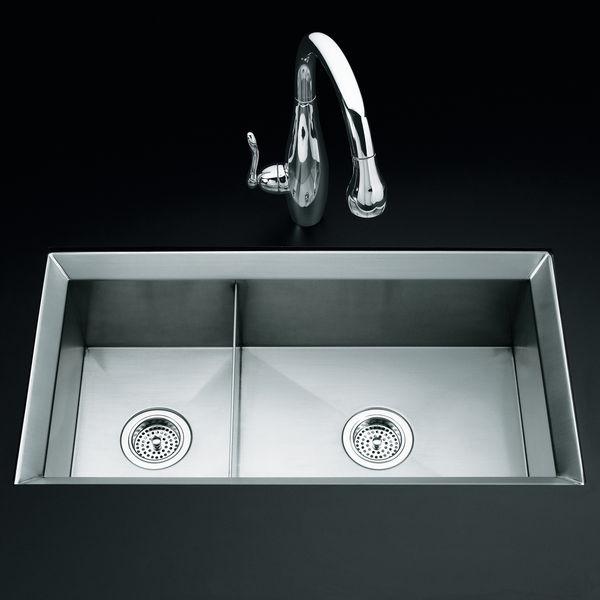 kohler kitchen sink poise K3389
