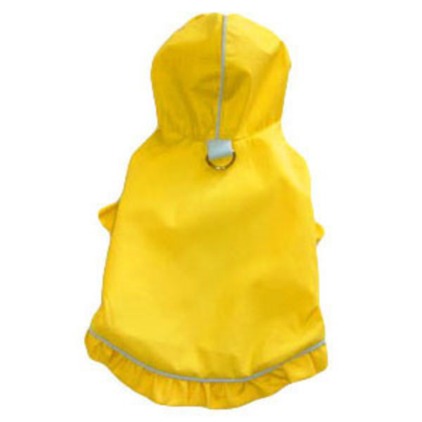 pet raincoat with d ring