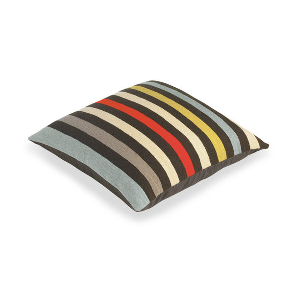 room and board henley chocolate pillow