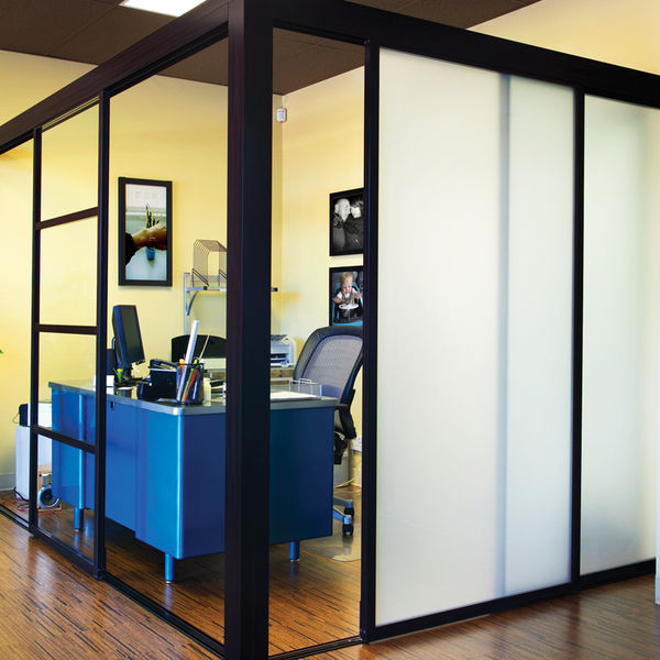 sliding door co office partitions