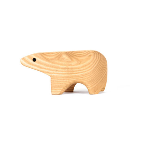 zahn karl areaware polar bear animal box