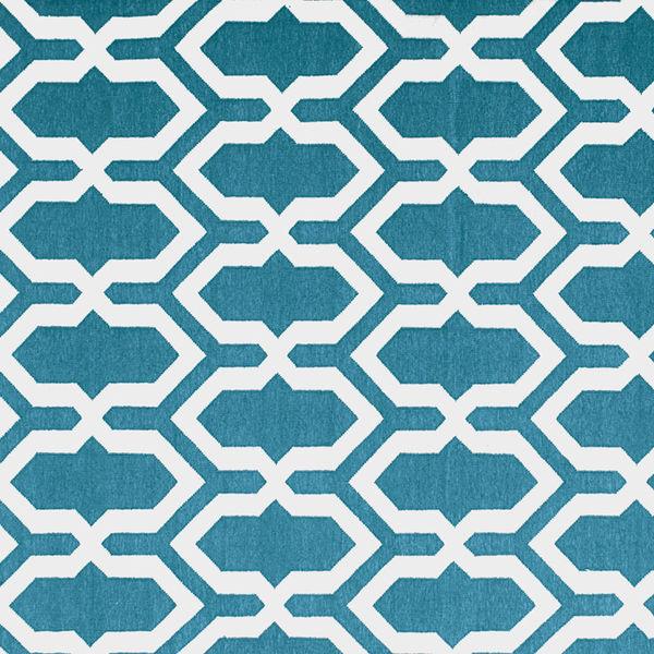 Jali Blue rug by The Rug Company