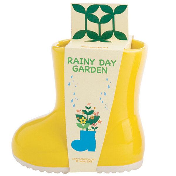 kids rainyday garden