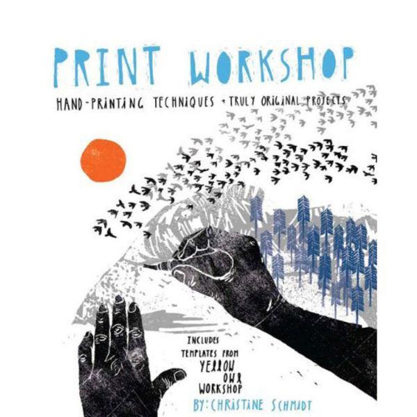 making print workshop hand printing