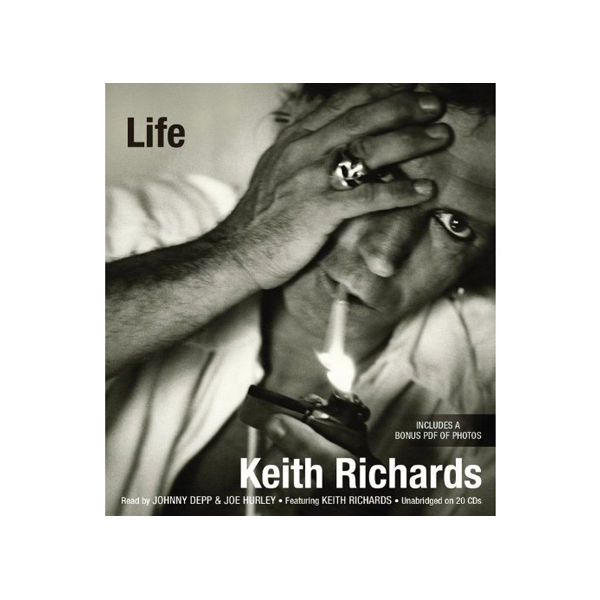 music keith richards book
