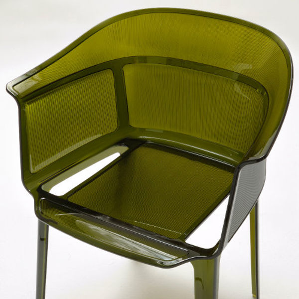 olive green papyrus chair
