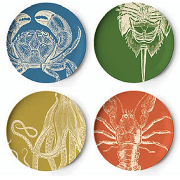 sea life dinner plates