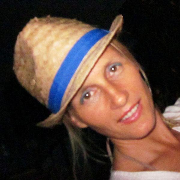 Portrait of writer Caia Hagel